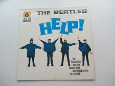 THE BEATLES  GERMAN HELP ! LP  HOR ZU  EXCELLENT