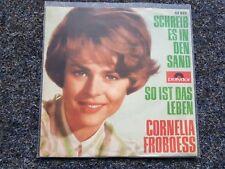 Conny Cornelia Froboess - Schreib es in den Sand 7'' Single