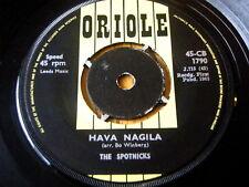 """THE SPOTNICKS - HAVA NAGILA  7"""" VINYL"""