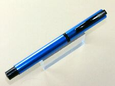 ONLINE VISION MAGIC FOUNTAIN PEN IN BLUE WITH MEDIUM STEEL NIB BRAND NEW