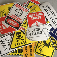 10/50Pcs DIY Cool Skateboard Stickers Bulk Pack Snowboard Vinyl Decor Decals