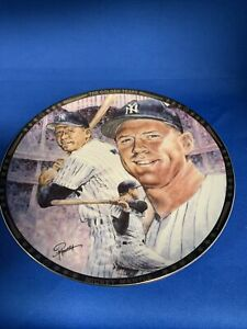 Mickey Mantle Collector Plate, The Golden Years, Sports Impressions, #1752, 1991