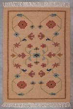 Front Indoor Mat Southwestern Wool Bedroom Front Door Mat 3'X4' Room Area Rug