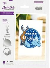 Gemini Layerable Sentiments Christmas Die - Winter Wishes