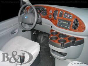 FORD ECONOLINE MOLDED DASH KIT  FITS 2006-2008 flat molded combo kit.