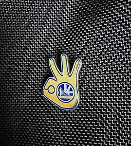 Golden State Warriors Dubnation Rare Limited Pin Shoe