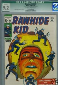 Rawhide Kid #69 CGC 9.2 Qualified Green Label