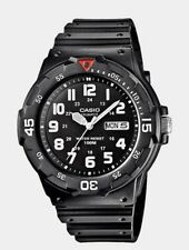 Casio Gents Black Collection 100 Meters MRW-200H-1BVEH Watch. TRDV