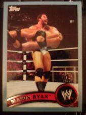 2011 Topps WWE Wrestling BLUE #23 Mason Ryan #d 1768/2011