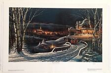 "Terry Redlin ""Family Traditions"" Signed Open Edition Print"