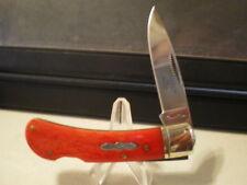RR462 Rough Rider Red Lockback Pocket Knife RR462 DISC.
