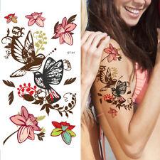 Supperb Temporary Tattoos - Mayflowers & Birds Temporary Tattoo