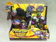 Rescue Heroes PowerMax Rocky Canyon! FACTORY SEALED!