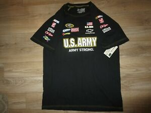 Ryan Newman #39 US ARMY Team NASCAR Chase T-SHIRT LG L mens NEW