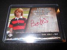 American Horror Story Asylum Autograph Trading Card Bodhi Schulz as Troy