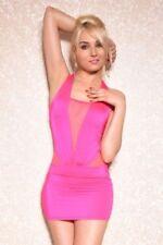 Transparente Mini-Damenkleider für Clubwear-Anlässe