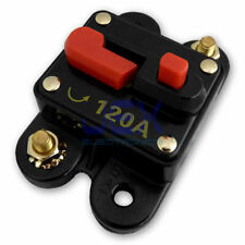 120 Amp In-Line Circuit Breaker Solar/Audio/Car/RV 120A/120AMP Fuse 12V/24V/32V