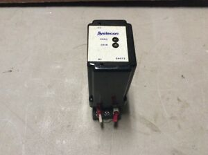 SYSTECON S9072 RELAY WITH BASE ST11-PC 300V 10A USED (TT4-3)