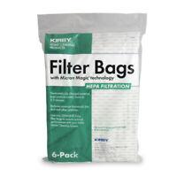 6 Genuine Kirby HEPA ALLERGEN CLOTH Filter Bags G3 G4 G5 G6 G7 G10 G10D Avilar