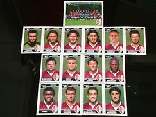 FIGURINE CALCIATORI PANINI 2004-05 SQUADRA TORINO CALCIO FOOTBALL SOCCER ALBUM