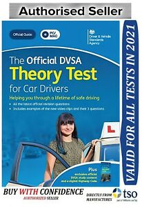 The Official DSA Theory Test for 2021 Car Drivers PC DVD ROM PC MAC *Theory Dvd