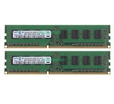 #11 4GB 2X 2GB 2RX8 PC3-8500U DDR3 1066MHz DIMM Memory Desktop RAM For ACER