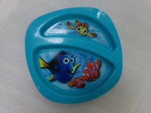 First Years Finding Nemo Fish Baby Divided Dishwasher Safe Microwave Safe Plate