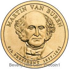 2008 Martin Van Buren President Dollar Philadelphia Denver Position Coins