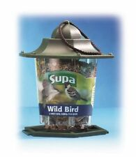 "Plastic Lantern Wild Bird Seed Feeder Holds 300g Seed 18cm (7"")"