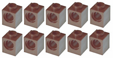 Lego 10x Technic Reddish Brown Brick 1x1 (6541) NEW!!!