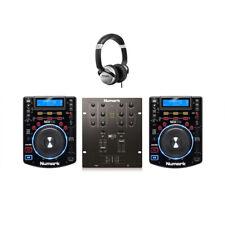 Numark DJ Bundle - 2x NDX500 Professional CD Player USB CDJ & Numark M101 USB Mi
