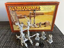 Tomb Kings Screaming Skull Catapult - Warhammer Fantasy WFB OOP metal