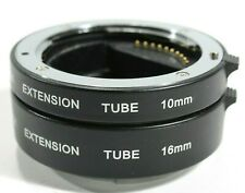 DG-NEX AF Macro Extension Set 10mm 16mm for Sony E-Mount NEX NEX-F3 NEX-6 LF434