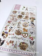 Kawaii Stickers Pretty Dogs Puppies Diary Journal Scrapbook Planner Supplies