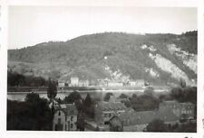 Blick auf die Maas vom Oquartier Profondeville Namur Belgien