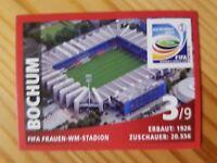 Panini SB Bochum Stadion Fussball WM 11 Nr. 3 Rarität!