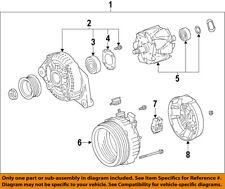 TOYOTA OEM 09-10 Corolla Alternator  1.8 2ZRFE 09-10 270600T04184