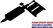 """Tattoo Machine Graphic Die Cut decal sticker Car Truck Boat Window Bumper 7"""""""