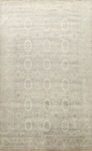 Vegetable Dye Traditional Hand-knotted All-Over Oriental Large Area Rug 10x14