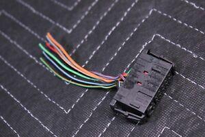 VOLKSWAGEN JETTA MK4 Electrical Pigtail Connecter Housing 6Q0972777
