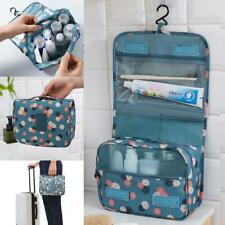 Unisex Portable Makeup Storage Bag Toiletry Pouch Cosmetic Travel Organizer
