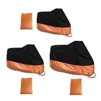 Waterproof Outdoor Motorbike UV Protector Rain Dust Bike Motorcycle Cover L-3XL