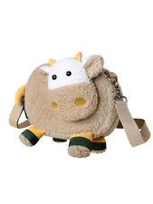 Small bag cow girl 2020 new cartoon plush bag cute girl messenger bag women