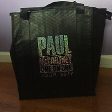 PAUL McCARTNEY ONE ONE ONE 2017 TOUR Large Tote Bag Cooler NEW MINT BEATLES