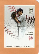 PRINTERS PROOF Mike Mussina 2001 Topps Certified Autograph Issue #TTA-MM