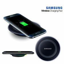 Fast QI Wireless Charger Charging Pad Plate For Samsung Galaxy S6 S6+S7 Edge UK