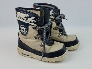 Vintage Elefanten Toddler Boys Winter Snow boots Polar Bear Germany 23 US size 7