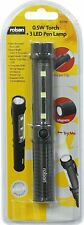 New Rolson 0.5 W + 3 LED Pen Torch Lamp Supplied With Batteries ABS Manufactured