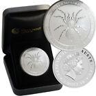 2015 Australia 1oz 999 Solid Silver Funnel Web Spider $1 Coin Perth Mint Case