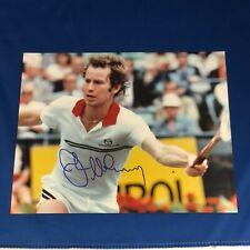 John McEnroe Hand Signed 8x10 Photo Tennis Champion PSA Examined